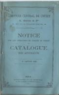 Monographie /Banque/ Comptoir Central De Crédit/  Catalogue Des Adhérents /1868    BA28 - 1801-1900
