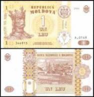 Moldova # 8-2006, 1 Leu, 2006, UNC - Moldawien (Moldau)