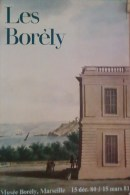 Affiche 1980 Mus�e Les Bol�ry Ch�teau Exposition du 15 Decembre 1980 au 15 Mars 1981 Marseille BORELY