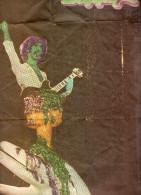 Affiche Frank ZAPPA - Parue dans POP MAGAZINE. Dimensions 44x58cm.