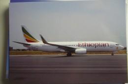 ETHIOPIAN AIRLINES   B 737 860   ET APK - 1946-....: Moderne