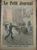 douane automobile le petit journal 1912