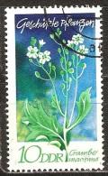 Allemagne d�mocratique - 1970 - Fleurs - YT 1255 oblit�r�