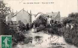 IS-SUR-TILLE VUE SUR LE BIEF 1910