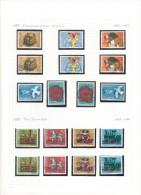 EXCEPTIONNEL !!! COMPLETE ** (MNH) et oblit�r�s (o) -1983/92 + Blocs _ carnets + 111 documents - voir toutes les images