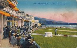 MONTE CARLO (Monaco) - Le Tir Aux Pigeons, Karte Etwas Fleckig - Monte-Carlo