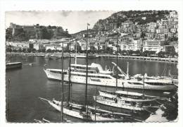 Monaco , Le Port Et La Condamine, Cpsm, Voyagée En 1957 , De Ajax Monaco, - La Condamine