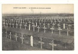 Cp, Militaria, Le Chemin Des Dames, Le Cimetière De Cerny-en-Laonnois - Monumenti Ai Caduti