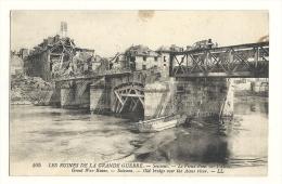 Cp, Militaria, Soissons (02) - Le Vieux Pont Sur L'Allier, écrite - War 1914-18