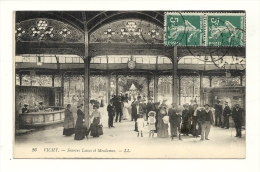 Cp, 03, Vichy, Sources Lucas Et Mesdames, Voyagée 1912 - Vichy