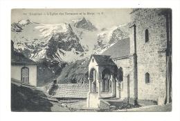 Cp, 05, Dauphiné, L'Eglise Des Terrasses Et La Maije, Voyagée 1909 - Frankreich