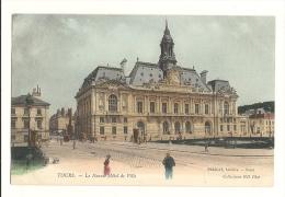 Cp, 37, Tours, Le Nouvel Hôtel De Ville - Tours