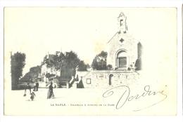 Cp, 44, La Baule, Chapelle Et Avenue De La Gare, Voyagée 1901 - La Baule-Escoublac
