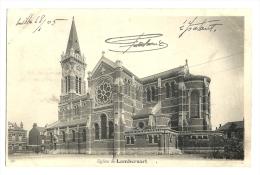 Cp, 59, Lambersart, L'Eglise, écrite 1905 - Lambersart