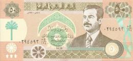IRAQ 50 DINARS 1991 XF+ P 75