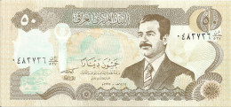 IRAQ  50 DINARS 1994 UNC P 83