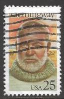 1989 25 Cents Hemingway, Used - United States