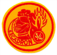 Gendarmerie Mobile -  Escadron 3/4 ST AMAND MONTROND (ancienne Numération Avant 07/1991) - Police & Gendarmerie