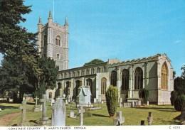 Postcard - Dedham St. Mary's Church, Suffolk. C4010