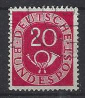 Germany (West) 1951  Posthorn  (o) Mi.130 - [7] Federal Republic