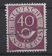 Germany (West) 1951  Posthorn  (o) Mi.133 - [7] Federal Republic