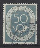 Germany (West) 1951  Posthorn  (o) Mi.134 - [7] Federal Republic