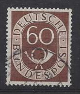 Germany (West) 1951  Posthorn  (o) Mi.135 - [7] Federal Republic
