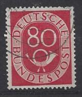 Germany (West) 1951  Posthorn  (o) Mi.137 - [7] Federal Republic