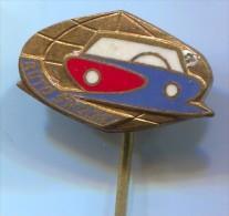 SKODA - Car, Auto, Vintage Pin, Badge, Enamel - Pins