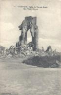 NORD PAS DE CALAIS - 59 - NORD - LA GORGUE - Eglise Du Nouveau Monde En Ruines - War 1914-18