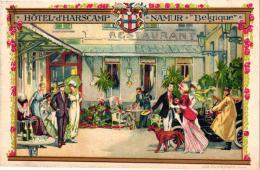 NAMUR  1 CP Hôtel D'Harscamp  Tarif  Tél 96  1919 - Namur