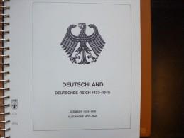 3eme Reich Tr�s Belle Collection Neuve** et Oblit�r�e  Presque Compl�te avec Blocs !