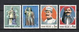 Grecia 1969. Yvert 997-1000 ** MNH. - Greece