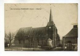 CPA  02  :  HARCIGNY   église    1921  VOIR  DESCRIPTIF    §§§§§§§§ - France