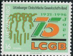 LM0683 Luxembourg 1996 Trade Union 1v MNH - Ongebruikt