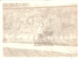 NORD PAS DE CALAIS - 59 - NORD - ROUBAIX - Photo Albuminée - 1907 - Vue Dans Un Jardin - Format 9 X 12 - Photos