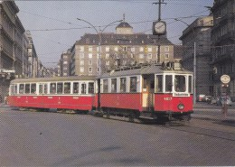 TRAM STRASSENBAHN  ELEKTRISCHE MUSEUMTRAMLIJN  AMSTERDAM  WENEN - Tramways
