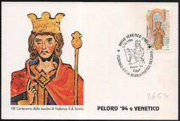 Italia/Italie/Italy: Federico II Di Svevia, Frederick II Of Swabia, Frédéric II De Souabe - Royalties, Royals