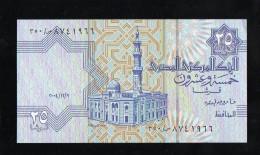 EGYPT / EGYPTE 25 PIASTRES  2004  UNC / NEUF - Aegypten