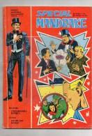BD- SPECIAL MANDRAKE - N° 86- L' INSAISISSABLE MISTER X- GORDON  GUERRE SUR MONGO-MAGIE-MAGICIEN- 12-1970 - Livres, BD, Revues