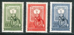 HUNGARY 1951 EVENTS 80 Years From The First HUNGARIAN STAMP - Fine Set MNH - Ungebraucht