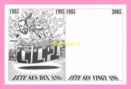 CPM  Le  CICPC  A Eu 10 Ans En Avril 1985   Dessin De Bernard Veyti - Andere Illustrators