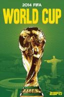 STICKER SIZE.6,5X9,5 CM. APROX - WORLD CUP FOOTBALL BRASIL 2014 - Otros