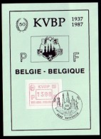 Belgie 1988 - KVBP - ATM - Stempel: Antwerpen - Postage Labels