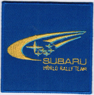 Subaru World Rally Team Car Automotive Motorsport Racing Patch - Scudetti In Tela