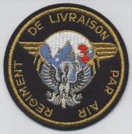 RÉGIMENT DE LIVRAISON PAR AIR (sans Velcro) - Stoffabzeichen