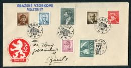 1946 Praha Prague PVV Autoposta Cover - Czechoslovakia