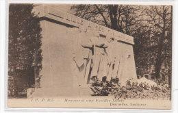 LILLE - Monument Aux Fusillés Lillois - Desruelles Sculpteur  (70620) - Lille