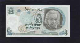 Banknote-1968- Einstein - Unc - Israel