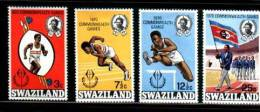 SWAZILAND 1970 MNH Stamps Commonwealth Games  179-182 # 6619 - Swaziland (1968-...)